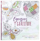 Adult Coloring Book: Expressions Of Gratitude (Majestic Expressions) image