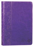 Tpt New Testament With Psalms Proverbs And Song Of Songs (2nd Edition) Purple