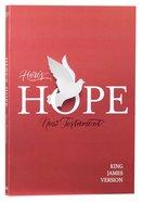KJV Here's Hope New Testament Paperback