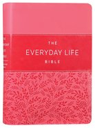 Amplified New Everyday Life Bible, the Pink Imitation Leather