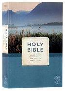 NLT Economy Outreach Bible Large Print (Black Letter) Paperback