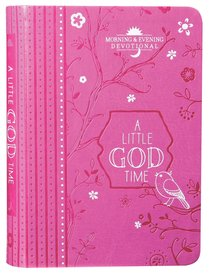 Product: Little God Time, A: Morning & Evening Devotional Image