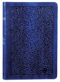 Product: Tpt New Testament With Psalms Proverbs And Song Of Songs (Large Print) Navy Image