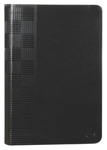 Product: Tpt New Testament With Psalms Proverbs And Song Of Songs (2nd Edition) Black Image