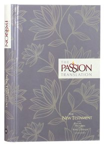 Product: Tpt New Testament With Psalms Proverbs And Song Of Songs (2nd Edition) Floral Image