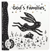 Product: God's Families: Black And White Baby Book Image