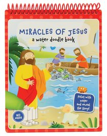Product: Miracles Of Jesus: A Water Doodle Book Image