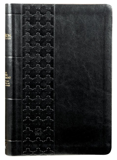 Product: Tpt New Testament With Psalms Proverbs And Song Of Songs (Large Print) Black Image