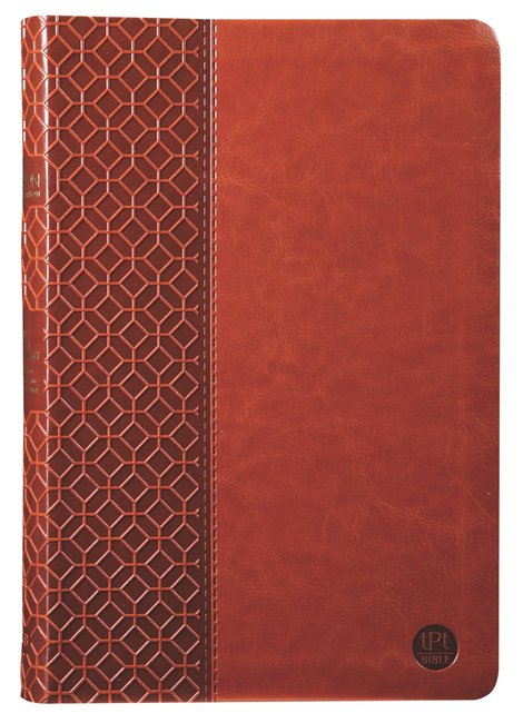 Product: Tpt New Testament With Psalms Proverbs And Song Of Songs (Large Print) Brown Image