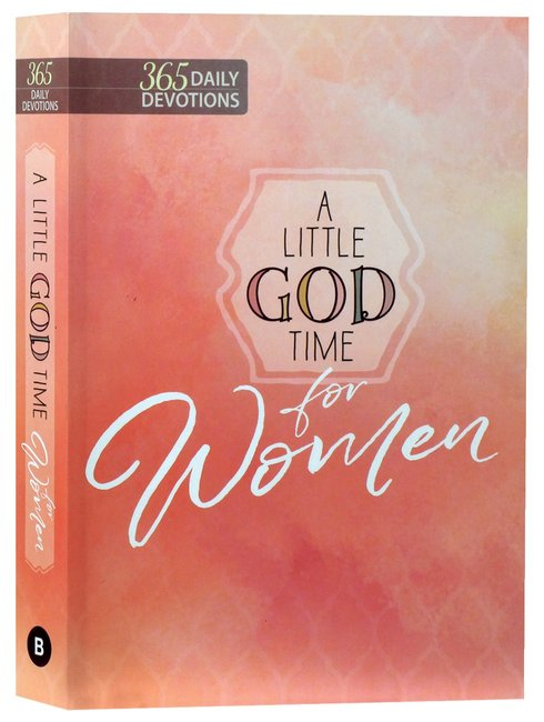 Product: 365 Daily Devotions: Little God Time For Women, A Image