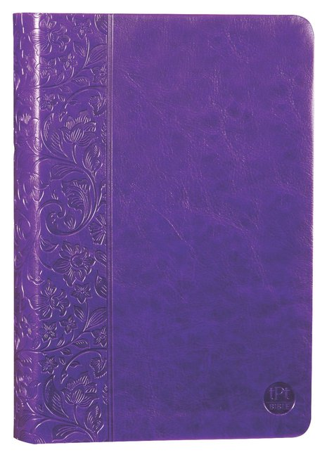 Product: Tpt New Testament With Psalms Proverbs And Song Of Songs (2nd Edition) Purple Image