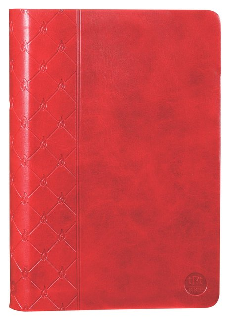 Product: Tpt New Testament With Psalms Proverbs And Song Of Songs (2nd Edition) Red Image