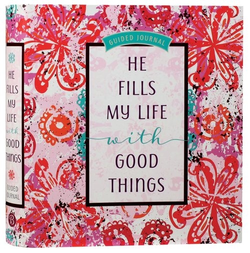 Product: Guided Journal: He Fills My Life With Good Things Image