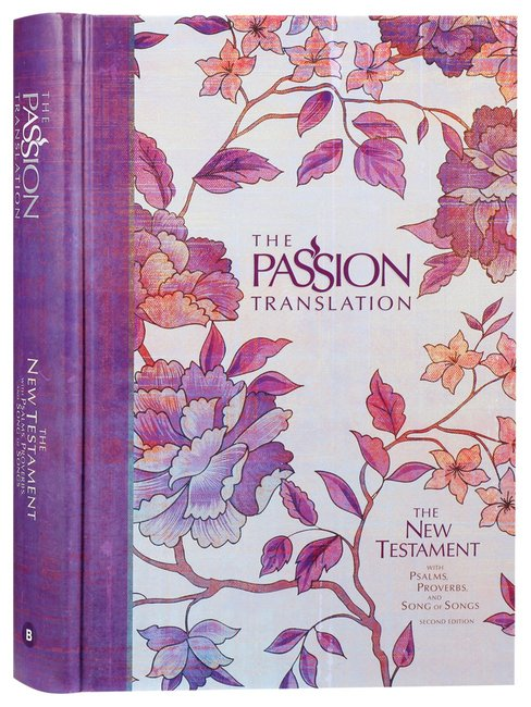 Product: Tpt New Testament Peony With Psalms Proverbs & Song Of Songs 2nd Edition (Black Letter Edition) Image