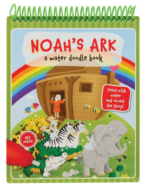 Product: Noah's Ark: A Water Doodle Book Image