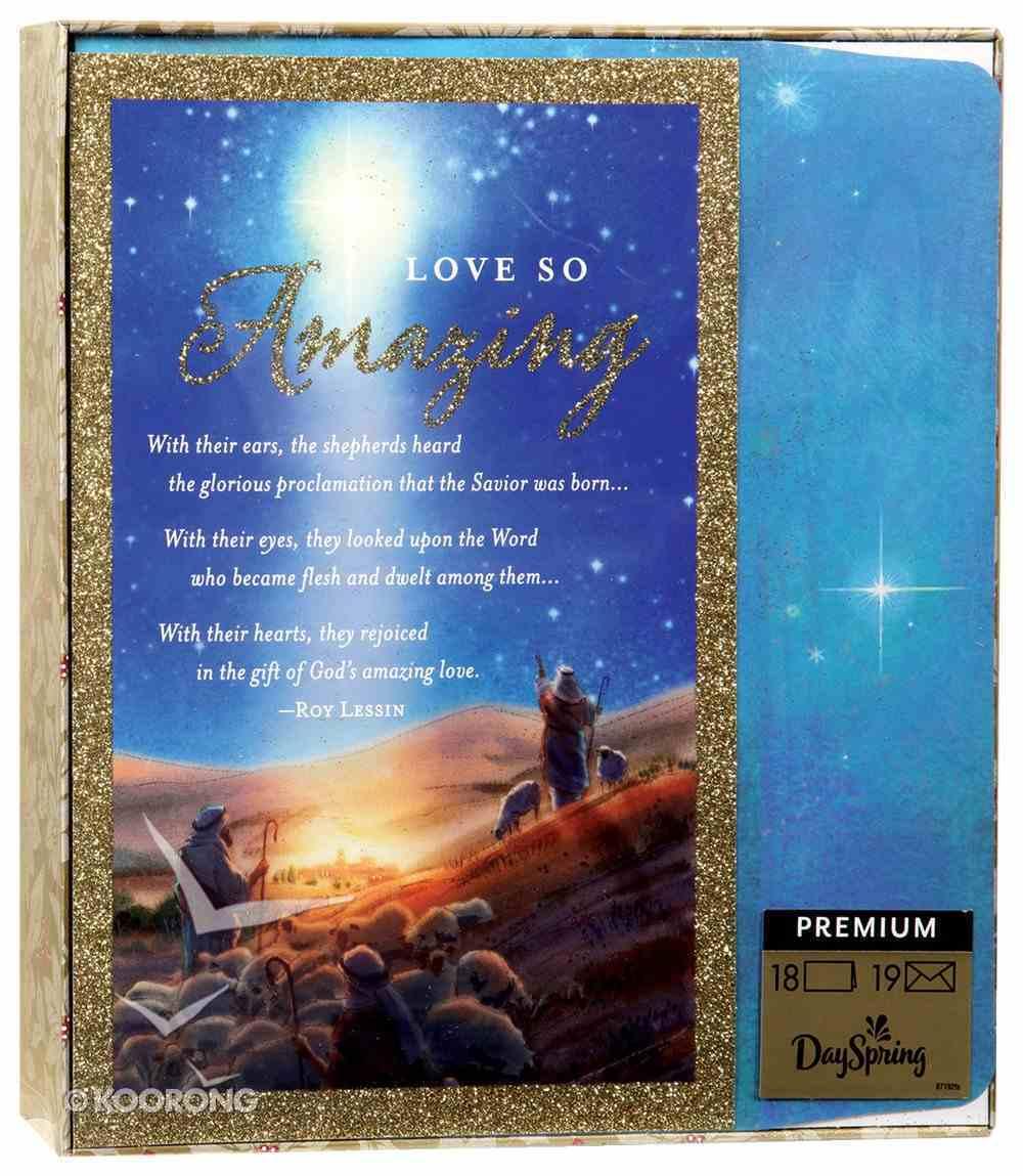 Christmas Premium Boxed Cards: Love So Amazing, Messiah (Luke 2:11 Kjv) Box
