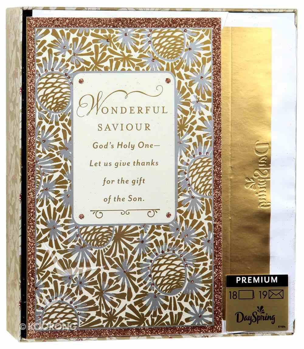 Christmas Premium Boxed Cards: Wonderful Saviour (James 1:17) Box