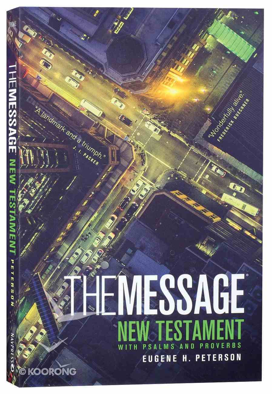 Message Personal New Testament With Psalms and Proverbs (Black Letter Edition) Paperback