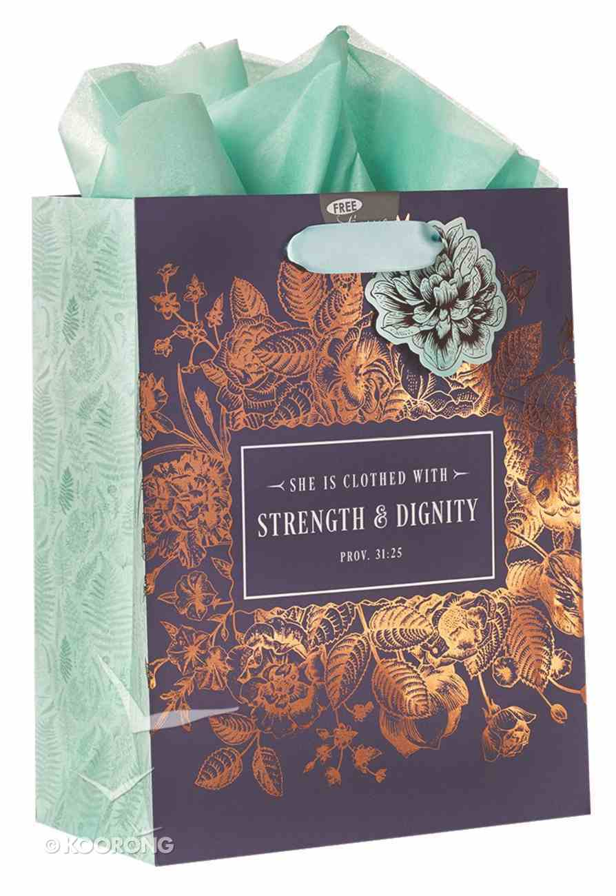 Gift Bag Medium: Strength & Dignity Stationery