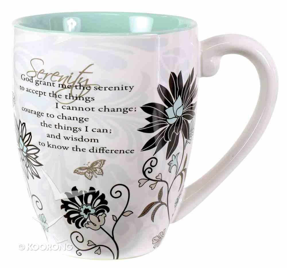 Mark My Words Ceramic Mug: Serenity Prayer Homeware