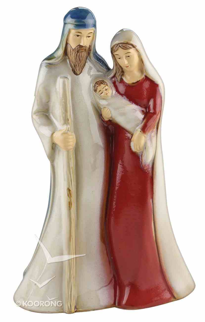 Porcelain Holy Family Colour Family Homeware