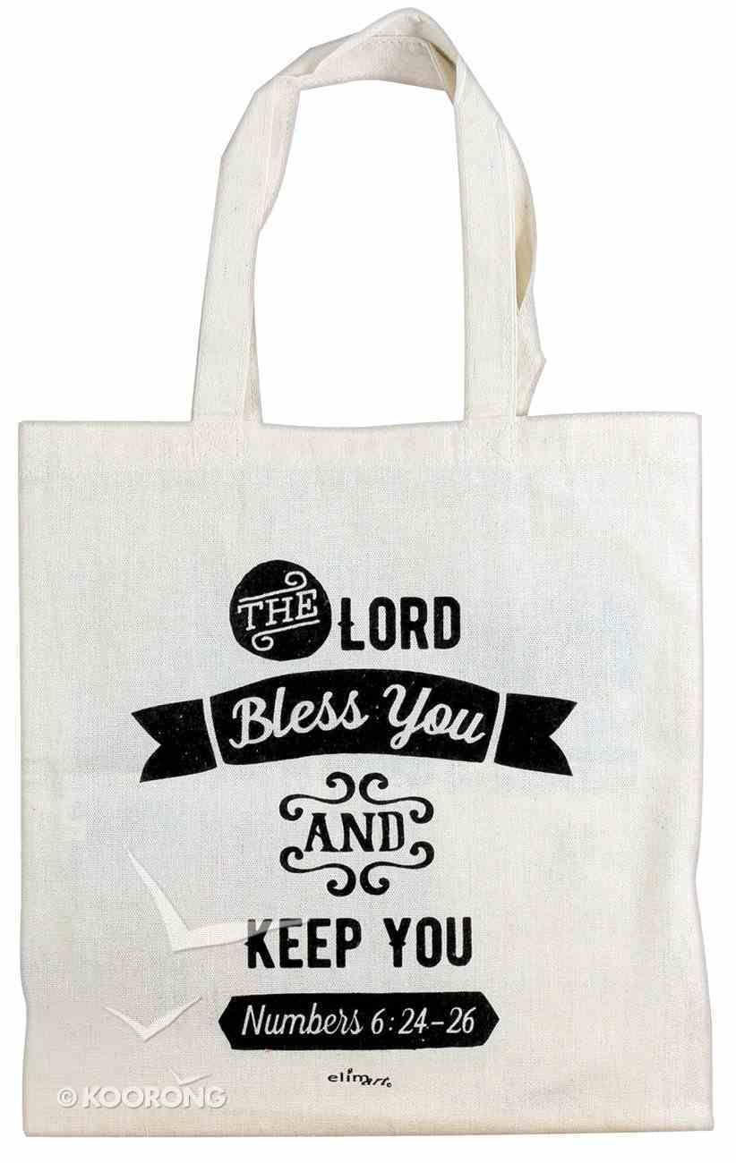 Cloth Bag: The Lord Bless You and Keep You, Cream Soft Goods