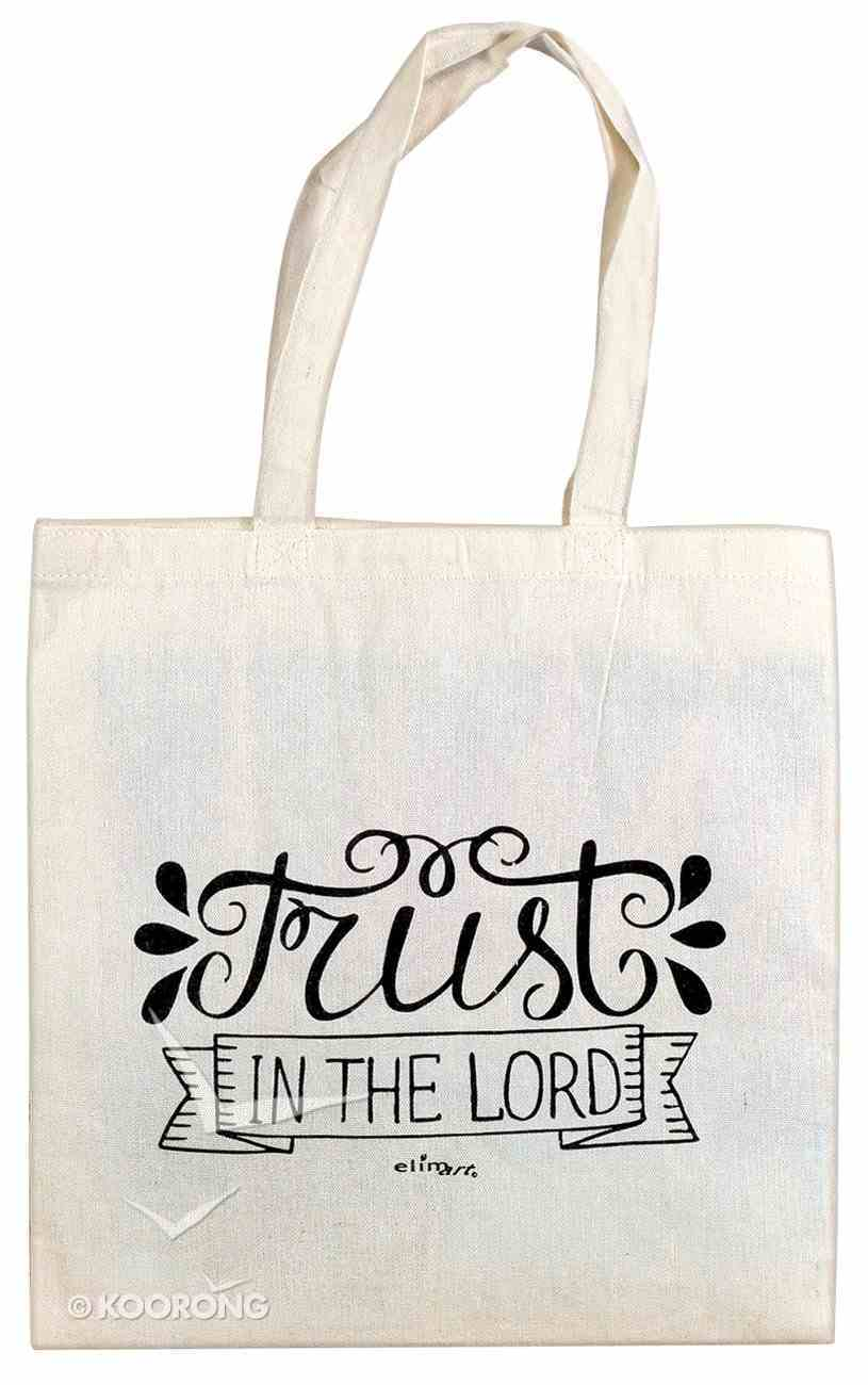 Cloth Bag: Trust in the Lord, Cream Soft Goods