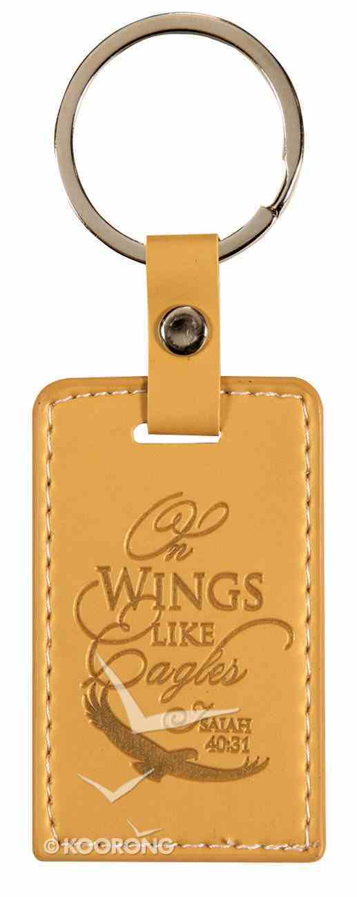 Lux Keyring: On Wings Like Eagles, Isaiah 40:31 Jewellery
