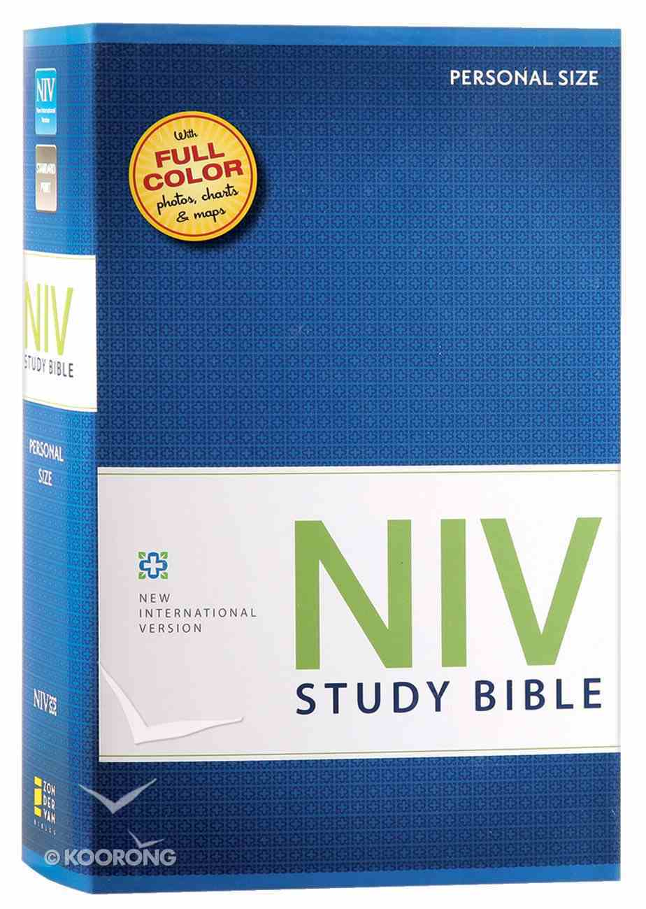 NIV Study Bible Personal Red Letter Edition Hardback