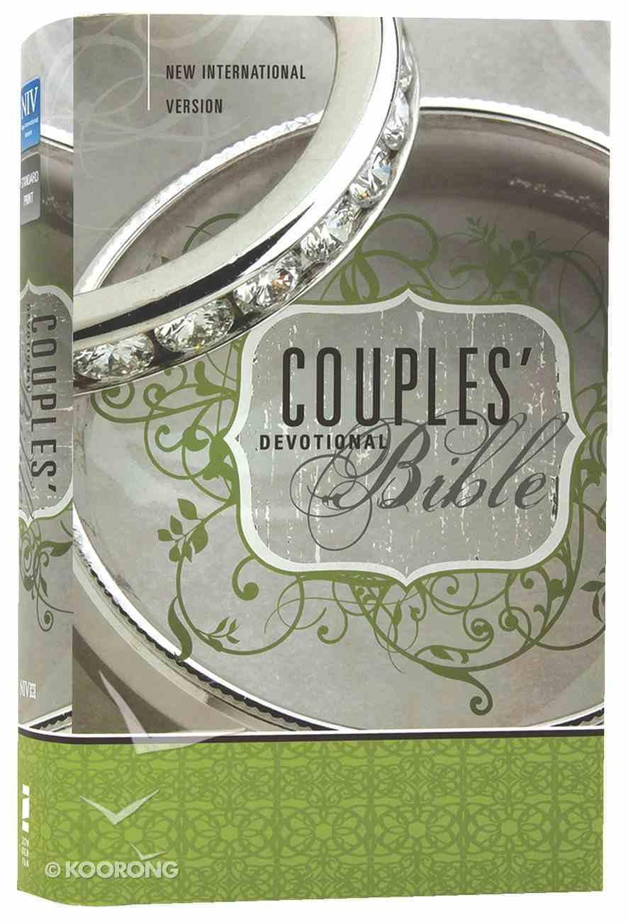 NIV Couples Devotional Bible (Black Letter Edition) Hardback