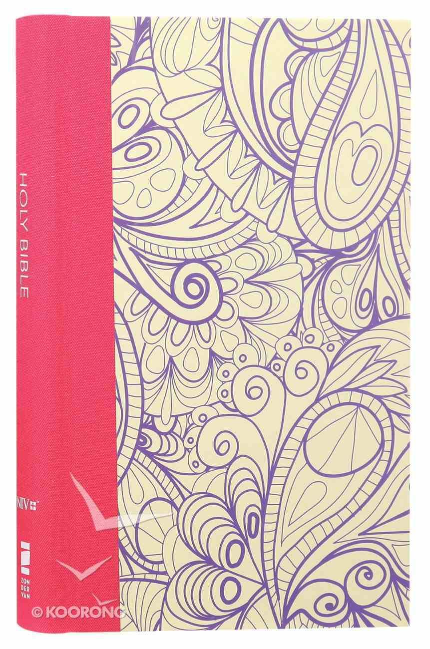 NIV Thinline Bible For Teens Purple (Red Letter Edition) Hardback
