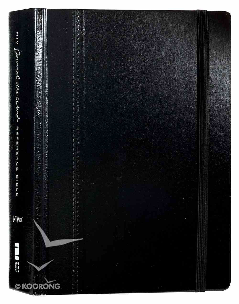 NIV Journal the Word Reference Bible Black (Red Letter Edition) Hardback