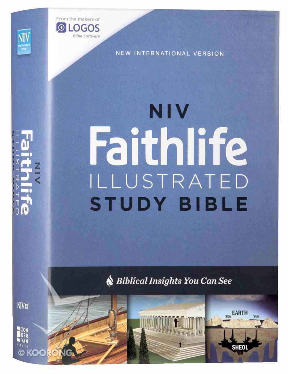NIV Faithlife Illustrated Study Bible Hardback