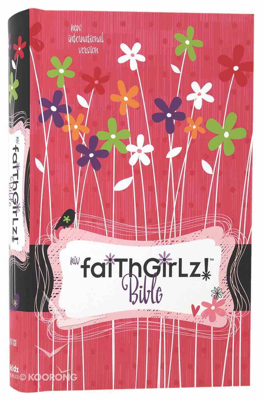 NIV Faithgirlz! Revised Bible (Black Letter Edition) Hardback