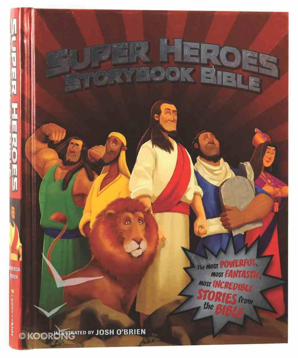 Super Heroes Storybook Bible Hardback