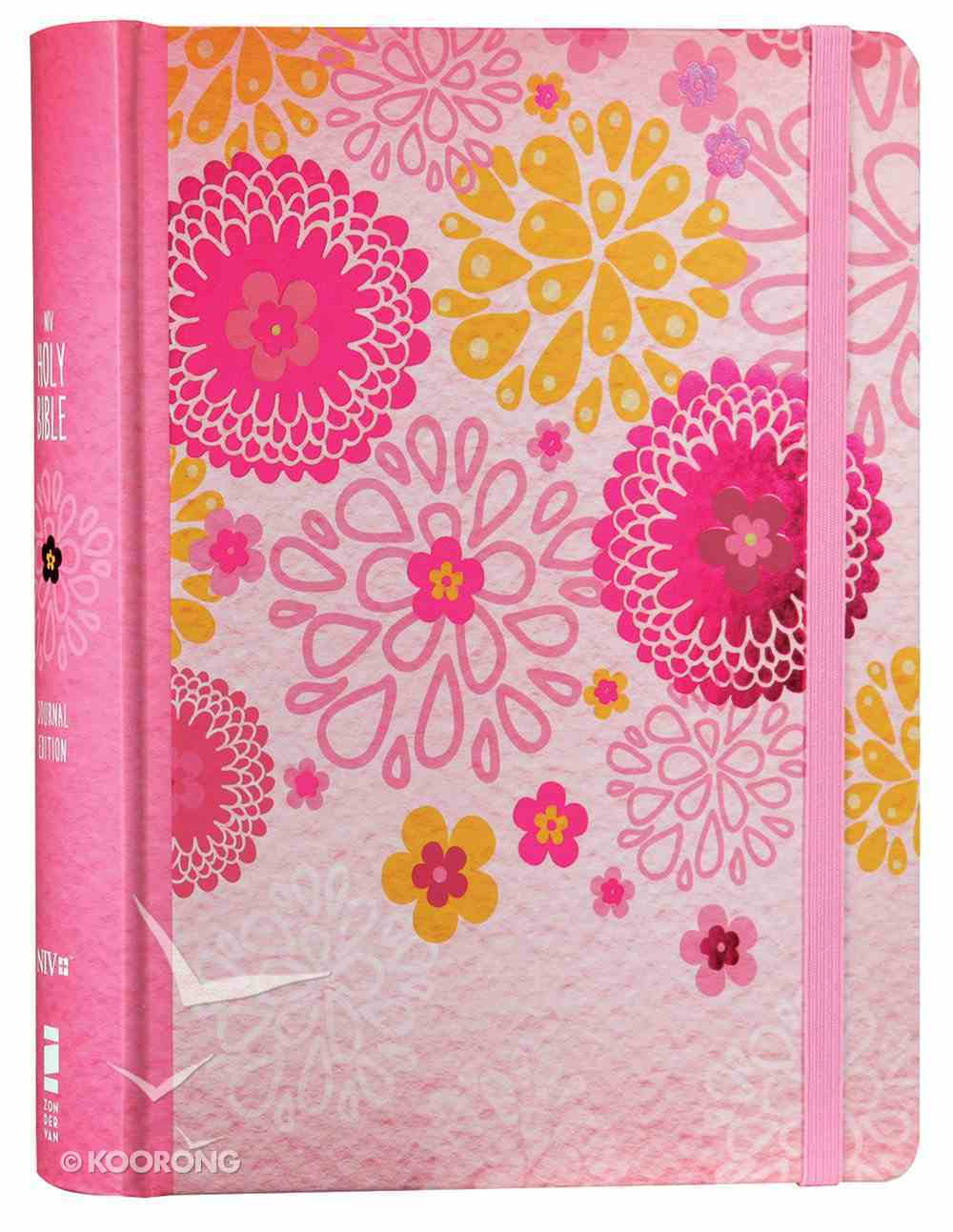 NIV Holy Bible For Girls Journal Edition Pink Elastic Closure (Black Letter Edition) Hardback