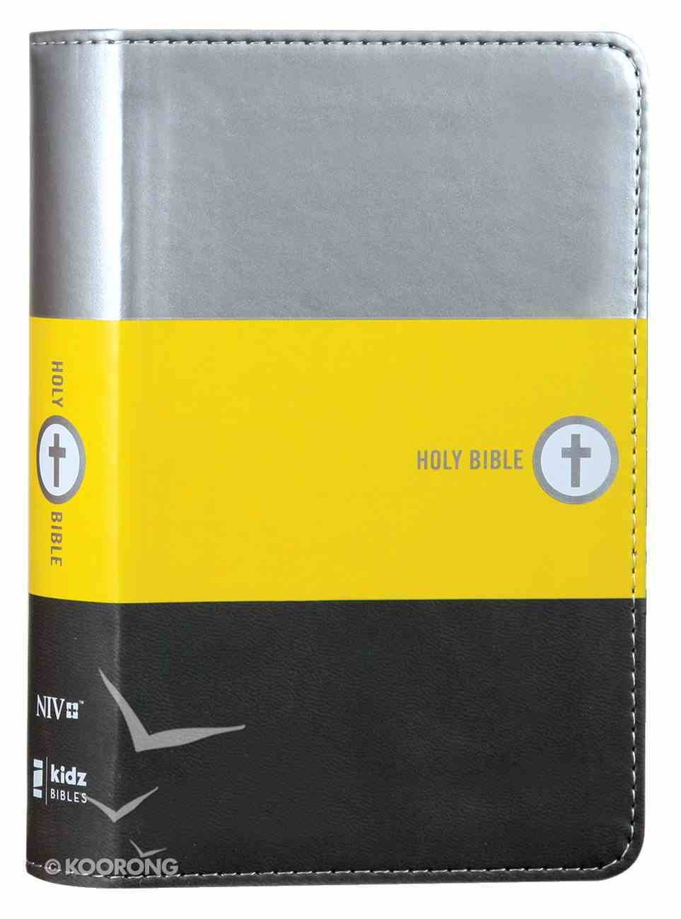 NIV Boys Backpack Bible Compact (Red Letter Edition) Premium Imitation Leather