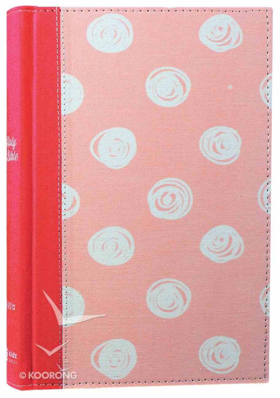 NIV Bible For Kids Pink (Red Letter Edition) Hardback