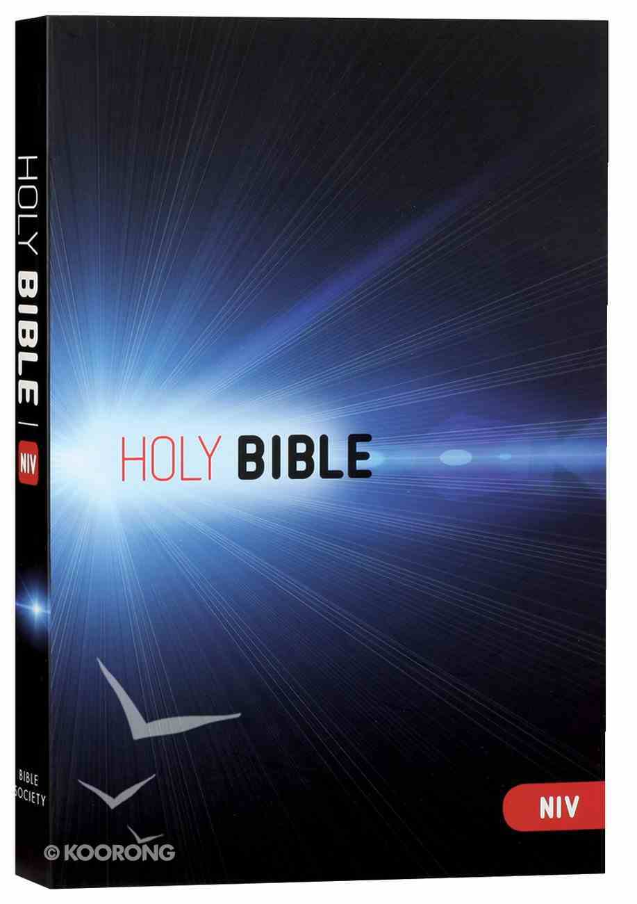 NIV Thinline Bible Blue Paperback