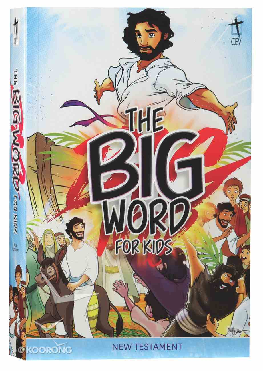 CEV Big Word For Kids New Testament Paperback