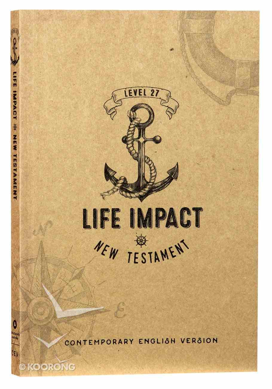 CEV Level 27 Life Impact New Testament Paperback
