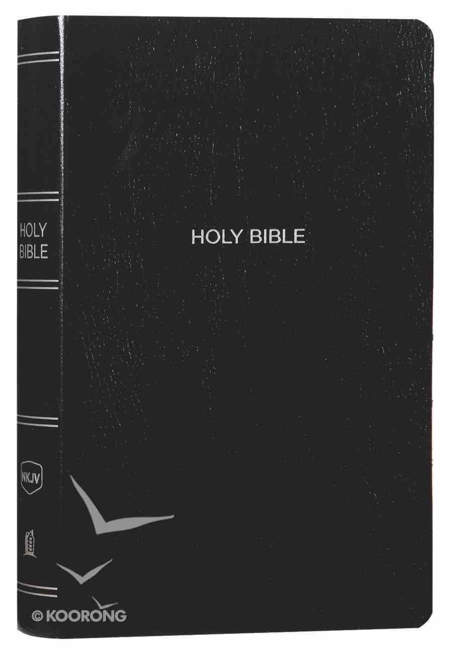 NKJV Gift and Award Bible Black Red Letter Edition Imitation Leather