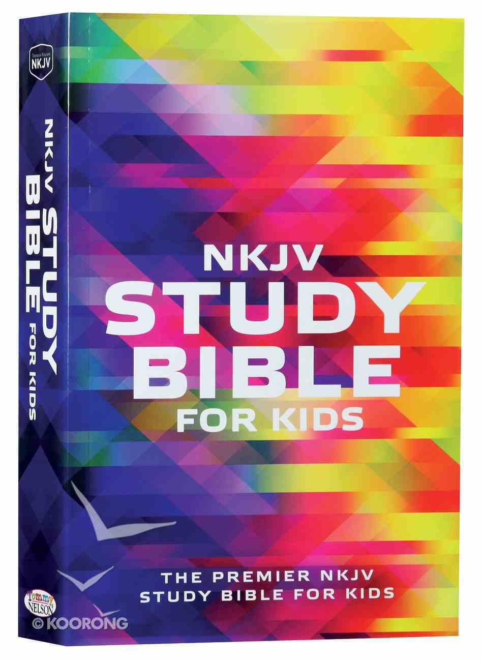 NKJV Study Bible For Kids (Black Letter Edition) Paperback