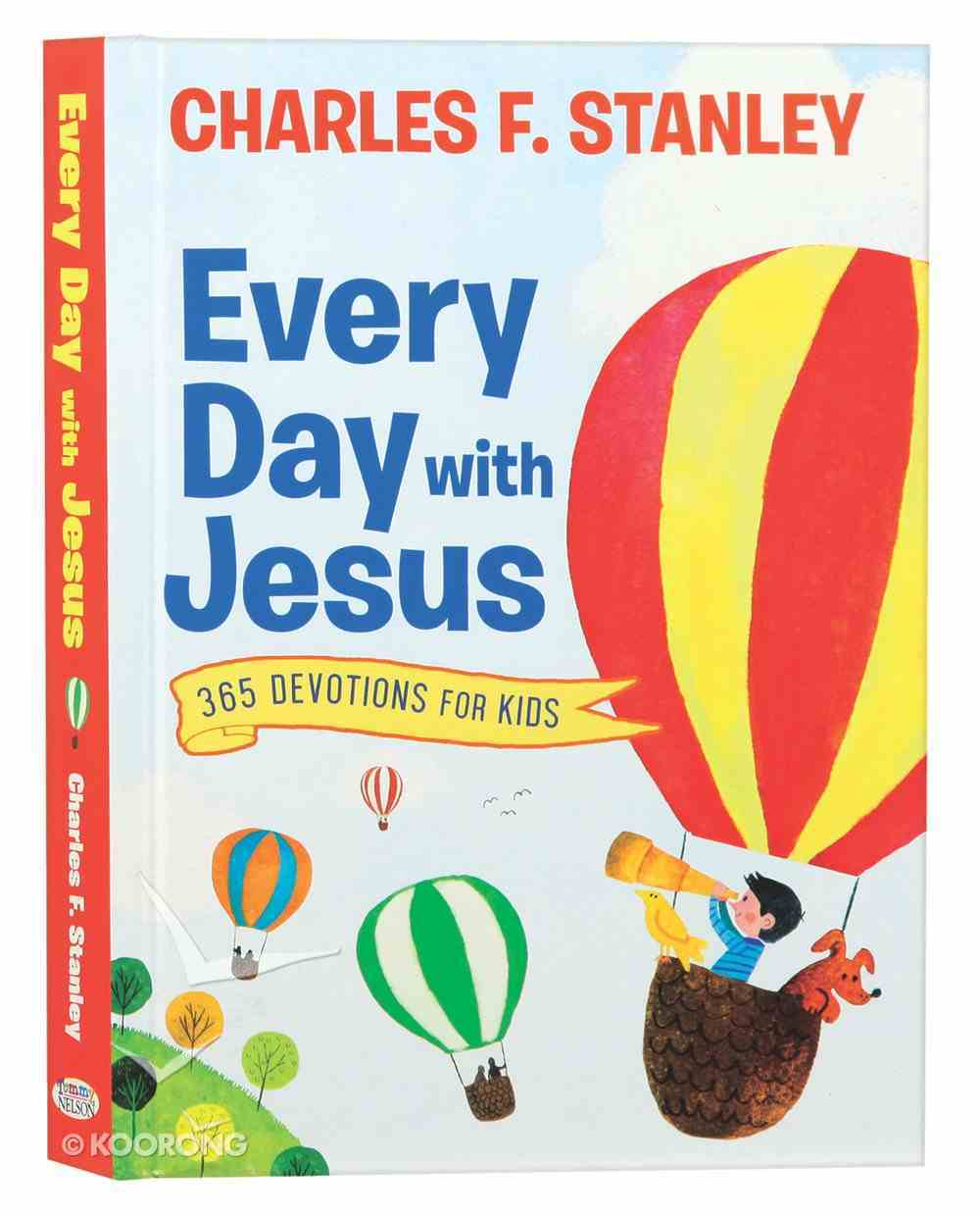 Every Day With Jesus: 365 Devotions For Kids Hardback