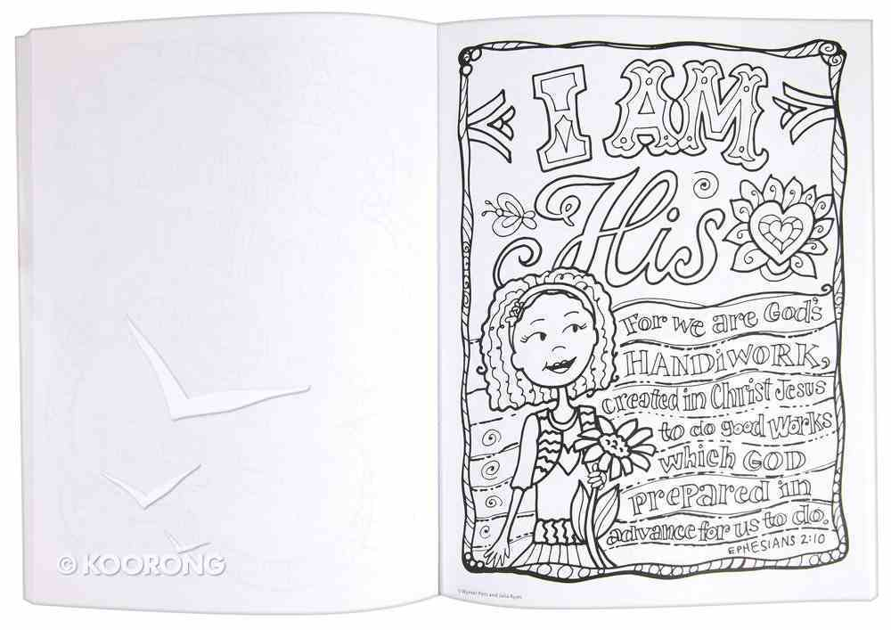 Coloring Book: You're God's Girl! Paperback