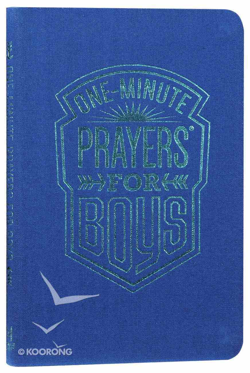 One-Minute Prayers For Boys Book Other