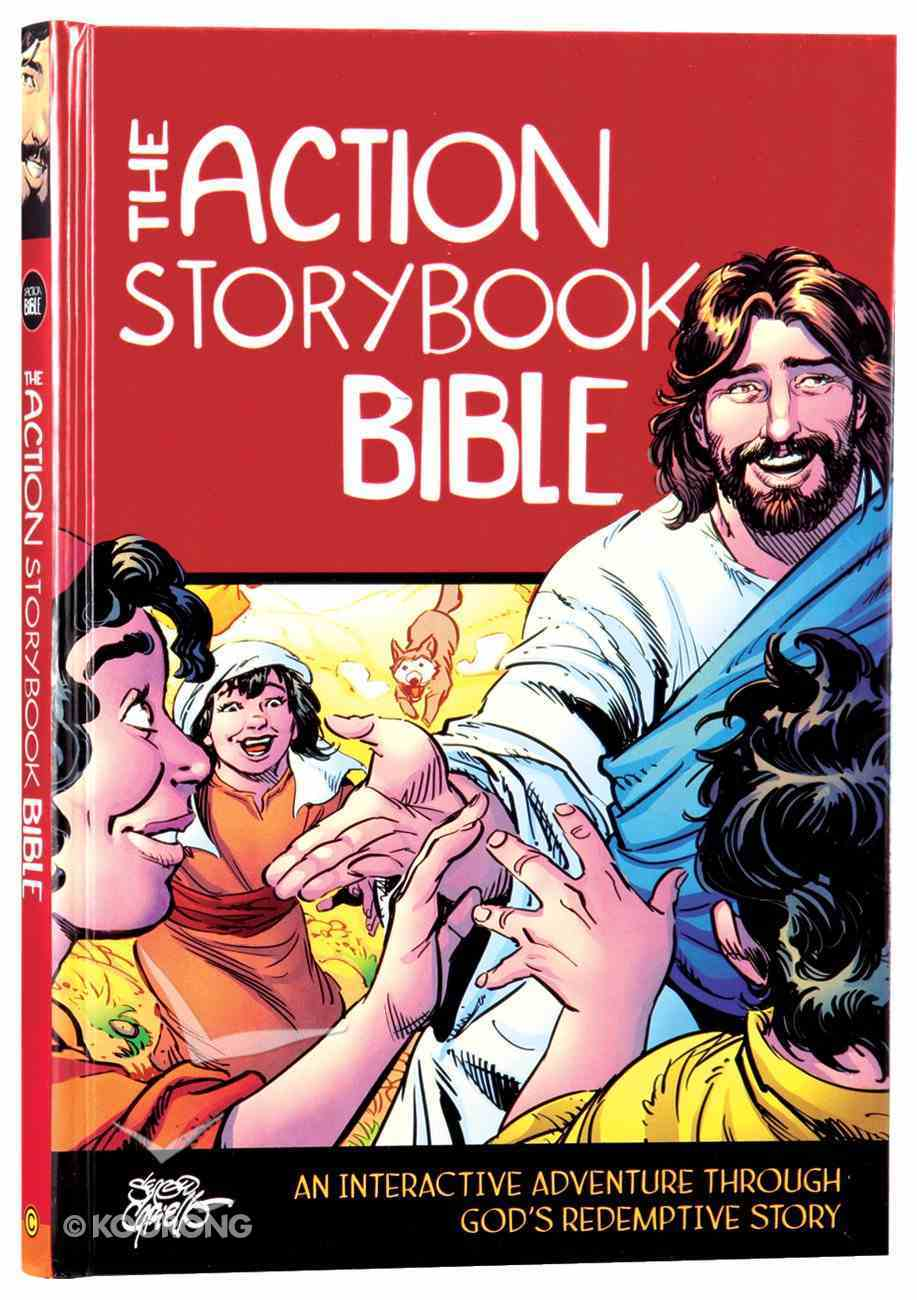 The Action Storybook Bible Hardback