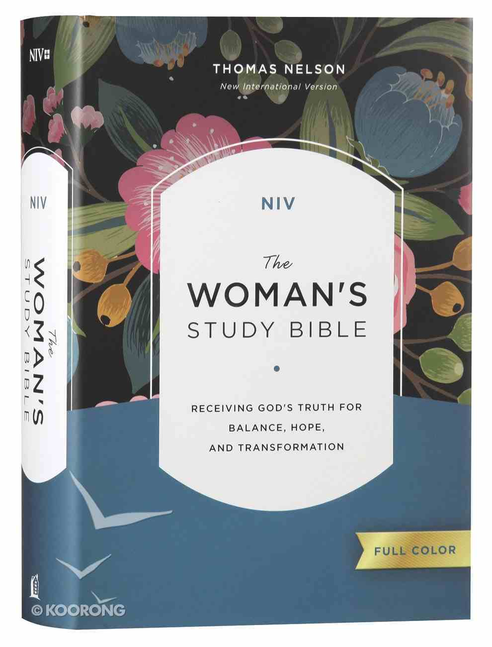 NIV Woman's Study Bible Full-Color Hardback