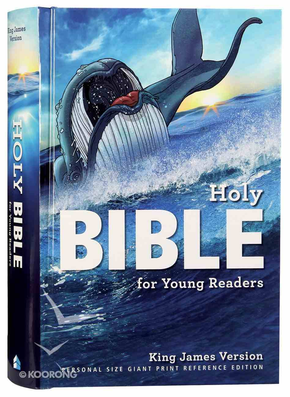 KJV Young Readers Personal Size Giant Print Reference Bible (Red Letter Edition) Hardback
