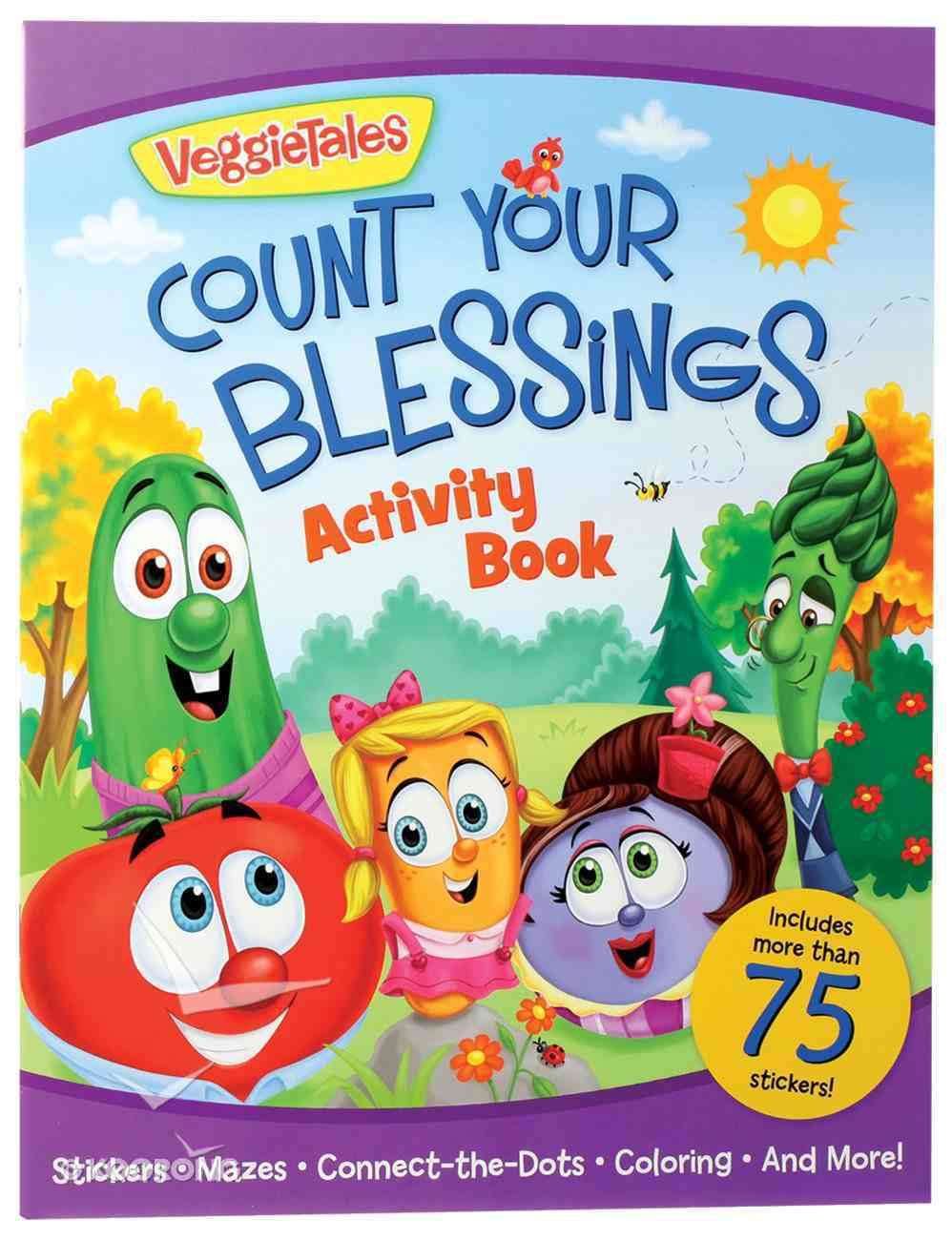 Count Your Blessings Activity Book (Veggie Tales (Veggietales) Series) Paperback